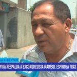 Yika respalda a excongresista Marisol Espinoza tras expulsión de APP