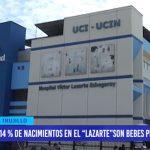 14 % de nacimientos en el Hospital Lazarte son bebes prematuros