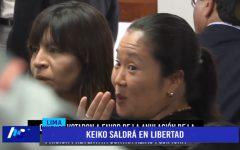 Pleno del TC anuló prisión preventiva de lideresa de Fuerza Popular