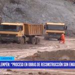 """Manuel Llempén: """"proceso en obras de reconstrucción son engorrosos"""""""