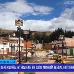Defensoría interviene en caso minería ilegal en tierras del Estado