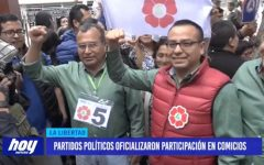 Partidos políticos oficializaron participación en comicios