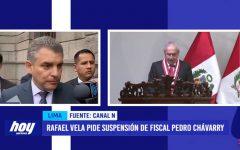 Rafael Vela pide suspensión de fiscal Pedro Chávarry