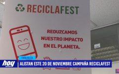 SEGAT alista este 20 de noviembre campaña Reciclafest