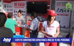 Expo yo constructor capacitará a más de 15 mil personas