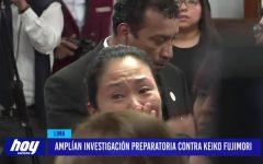 Amplían investigación preparatoria contra Keiko Fujimori