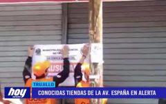 Conocidas tiendas de la avenida España en alerta