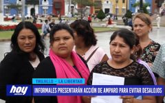 Informales presentarán acción de amparo para evitar desalojo