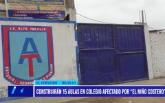 """Construirán 15 aulas en colegio afectado por """"El Niño Costero"""""""