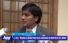 """Constantino Vila: """"medida es buena pero falta capacidad en hospitales del MINSA"""""""