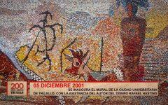 Se inaugura el mural de la Ciudad Universitaria de Trujillo