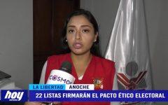 JEE: 22 listas firmarán el pacto ético electoral