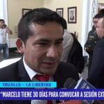 """Marcelo tiene 30 días para convocar a sesión extraordinaria"""